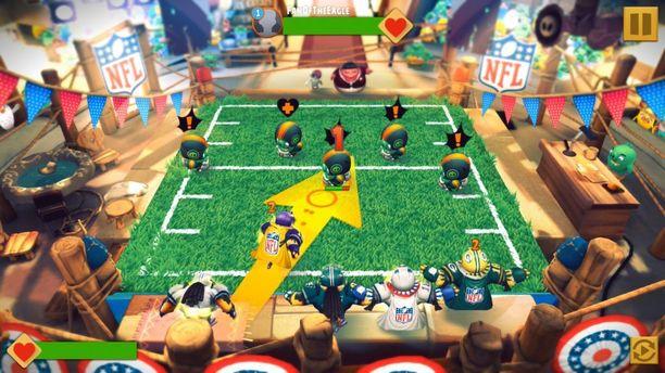 Pelikuvaa Angry Birds Evolution -pelistä.
