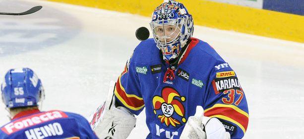 Jokerit edusti Suomea viime talven European trophy-finaalissa.