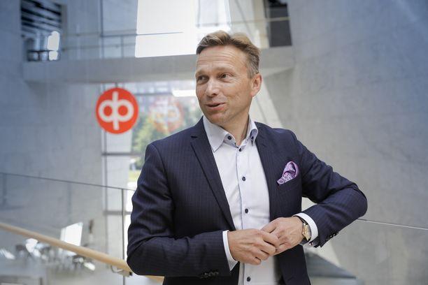 OP pääjohtaja Timo Ritakallio sanoo, ettei yt-neuvotteluissa ole määritelty vähennystarvetta.