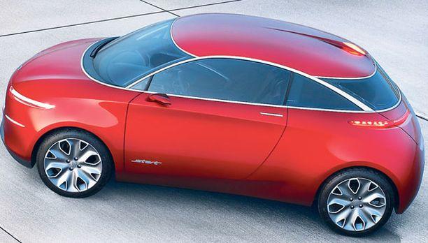 PIKKU-HOPPA Maailman ensi-illassa Pekingissä on kevytkorinen pieni Ford Start-konseptiauto.