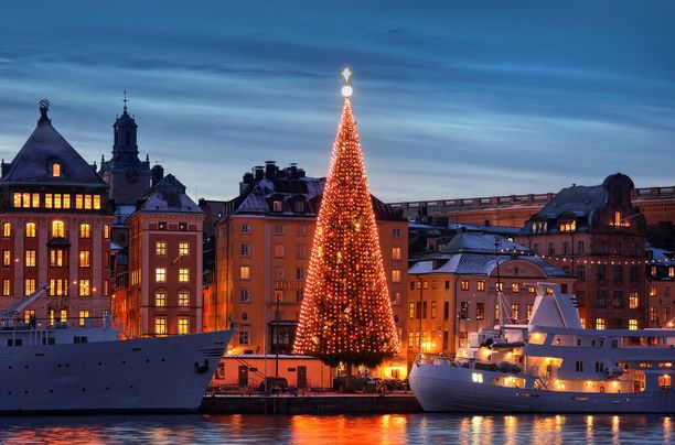 Rannassa seisovaan täydellisen muotoiseen joulukuuseen liittyy salaisuus. Puu on oikeasti rakennettu tämän muotoiseksi: riittävän korkeaan runkoon on porattu reikiä, joihin on kiinnitetty sopivan mittaisia oksia. Näin syntyy symmetrinen, kartionmuotoinen joulupuu.