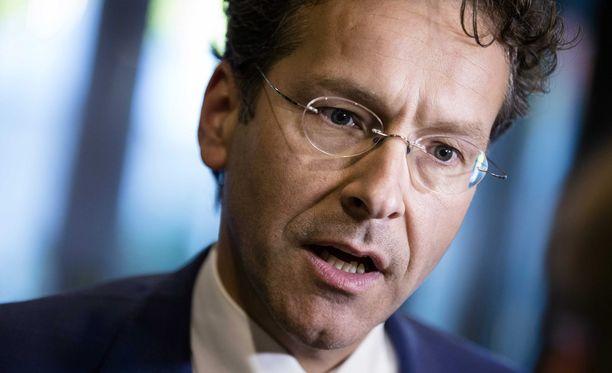Euroryhmän puheenjohtaja Jeroen Dijsselbloem on myös Alankomaiden valtiovarainministeri.