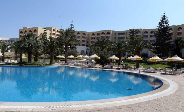 Imperial Marhaba Hotel on suosittu lomakohde Tunisiassa.