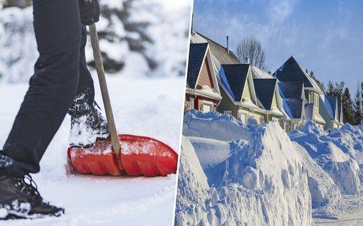 Mihin lunta saa survoa? Huomio nämä seikat lumitöissä