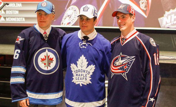 Viime vuoden varaustilaisuuden kärkiäijät Patrik Laine ja Auston Matthews löivät läpi heti ensimmäisellä kaudellaan NHL:ssä. Pierre-Luc Dubois jatkoi pelejään juniorisarjassa.