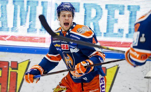 Tapparan Mikko Lehtonen pääsee olympiakisoihin Koreaan.