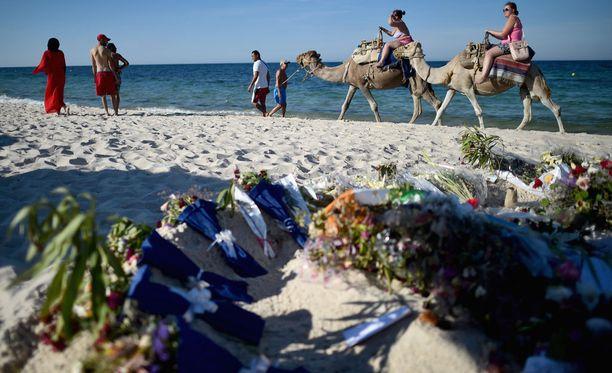 Soussen rantaiskussa sai surmansa viime perjantaina 38 ihmistä.