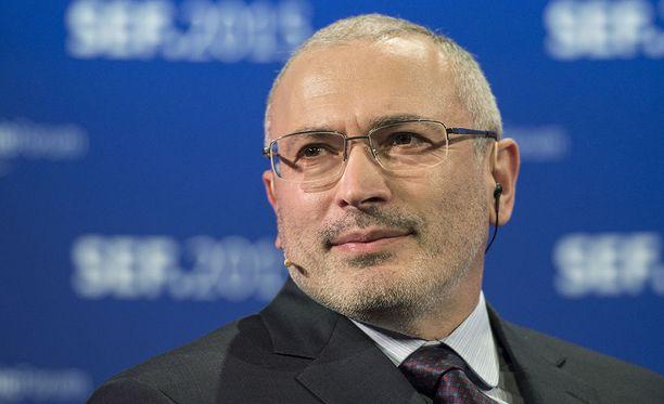 Mihail Hodorkovskin mukaan Vladimir Putinin asettuminen ehdolle oli odotettavissa oleva, mutta todella epämieluisa uutinen.