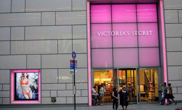 Victoria's Secret -ketjun myymälää ei löydy Suomesta.