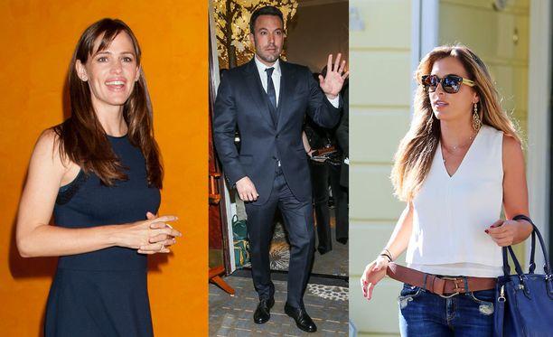 Jennifer Garnerin entinen aviomies Ben Affleck yhdistetään nyt Christine Ouzounianiin.