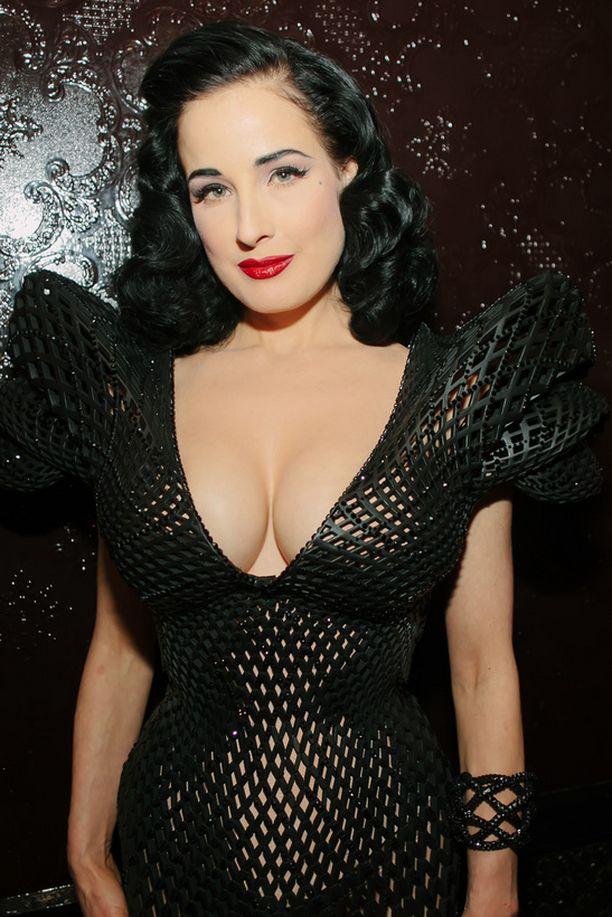3D-puku suunniteltiin nimenomaan Ditan vartalolle.