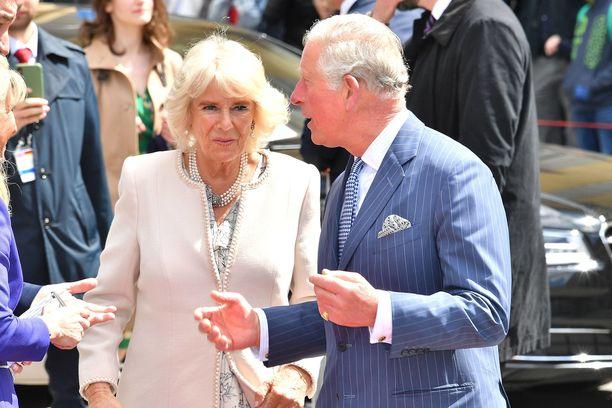 Herttuatar Camilla ja prinssi Charles ovat olleet naimisissa vuodesta 2005.