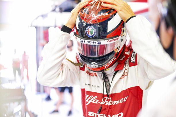 Kimi Räikkönen ajoi pisteille.