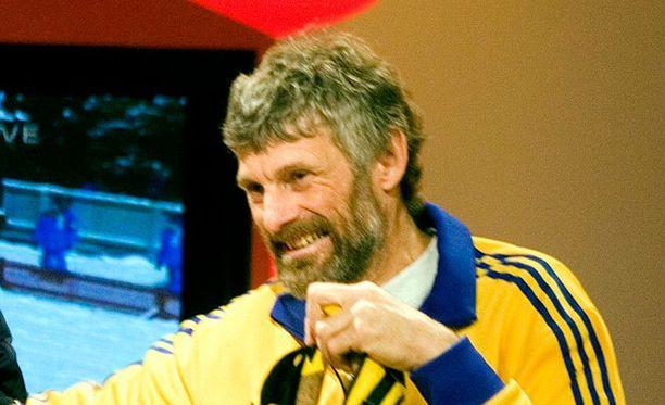 Thomas Wassberg toimii Falunissa latupomona.