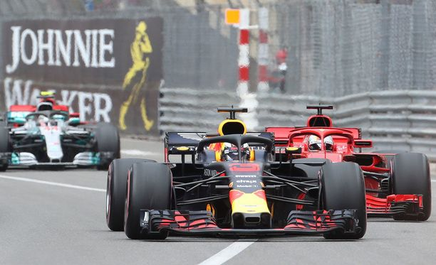 Daniel Ricciardo ajoi Monacon GP:n keulilla alusta loppuun.