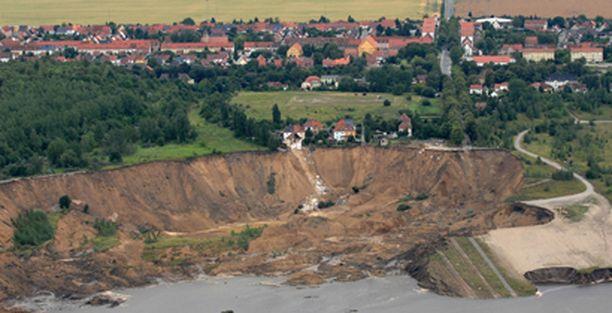 Kaivostoiminnan uskotaan heikentäneen Nachterstedtin maaperää.
