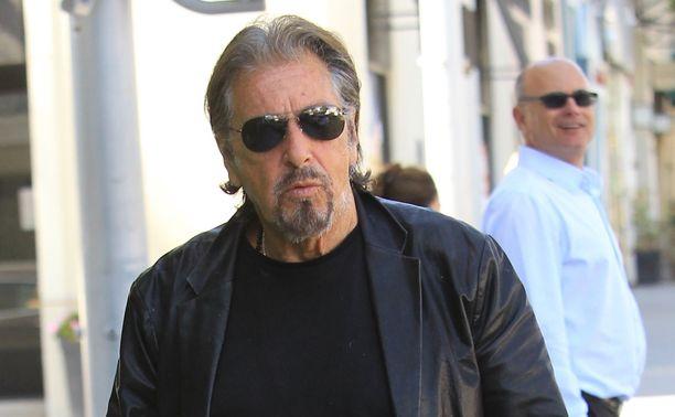 Al Pacinon tuorein elokuva on ensi vuonna teatterilevitykseen tuleva Quentin Tarantinon ohjaama Once Upon a Time in Hollywood.