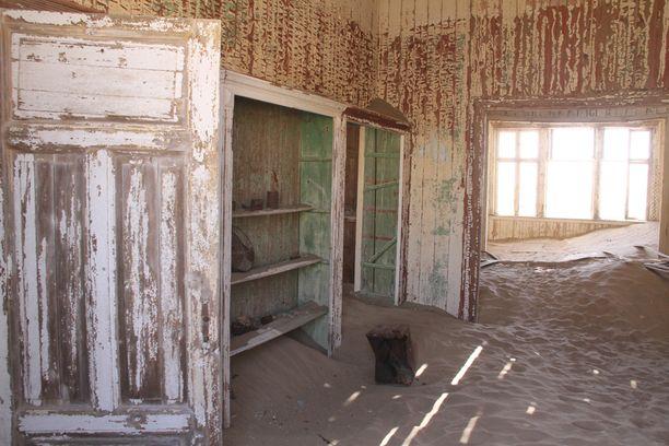 Timantit toivat Kolmanskopiin paljon saksalaisia siirtolaisia.