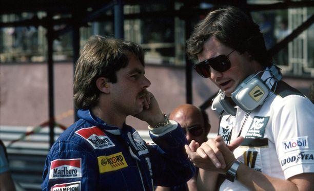Keke Rosberg valloitti vuoden 1982 maailmanmestaruuden myös kisainsinööri Frank Dernien avulla.