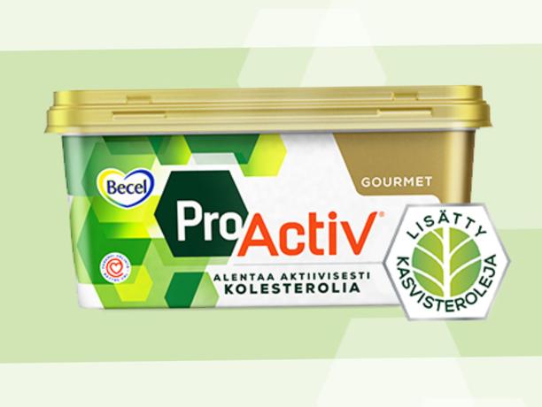 Erä Becel ProActiv Gourmet-margariinia vedetään pois markkinoilta.