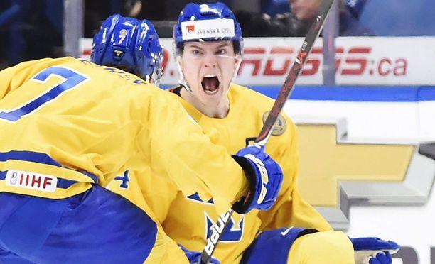 Lias Andersson uskaltautui some-vetoon. Tappiohan siinä tuli.