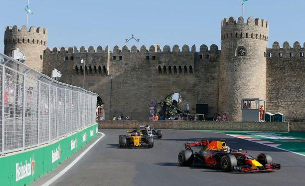 Daniel Ricciardo otti uransa viidennen GP-voiton sunnuntaina.