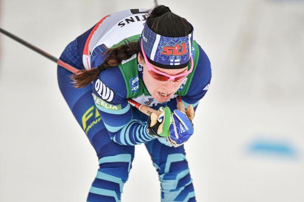 Krista Pärmäkoski tietää Venäjän viestijoukkueen olevan MM-kisoissa todella vahva.