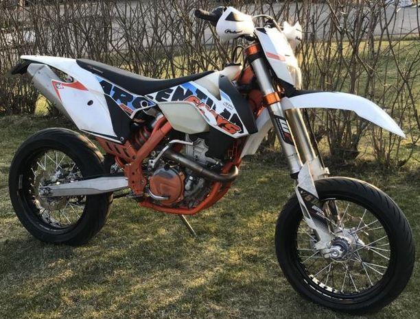 Ylöjärveltä on anastettu rekisterikilvetön KTM 350 EXC-F Sixdays -moottoripyörä. Poliisi etsii pyörää.