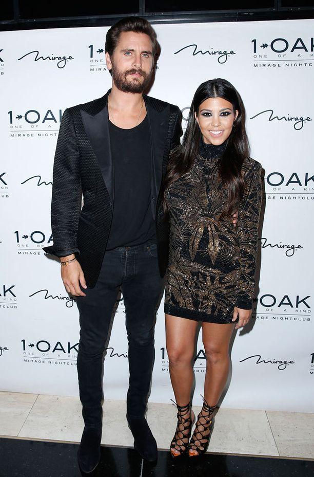 Scott Disickillä ja Kourtney Kardashianilla on kolme lasta.