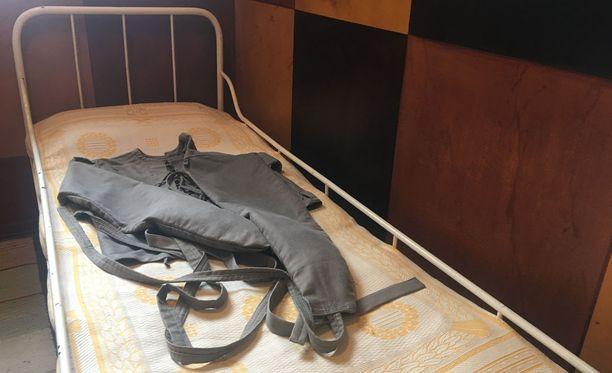 Houruinhuoneen potilashuoneiden selkeiden linjojen ja värien oli tarkoitus rauhoittaa.