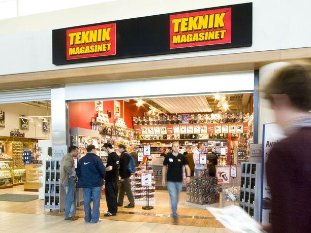 Konkurssi. Teknikmagasinet ajautui konkurssiin. Ketjulla on Suomessa 16 myymälää.