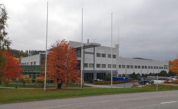 Tähän jyväskyläläiseen rakennukseen muuttaa Toyotan WRC-talli.