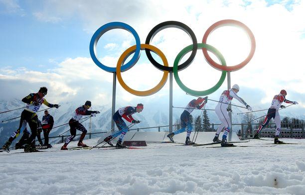 Olympiahiihtoa Suomessa 2030-luvulla? Iso ja mahdollinen unelma. Kuvituskuva.