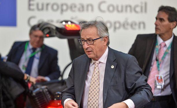 Komission puheenjohtaja Jean-Claude Juncker kertoi Ukrainan lisäavusta torstaina.