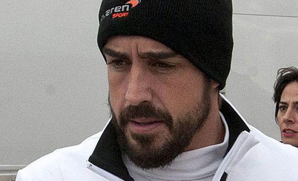 Fernando Alonson onnettomuus puhututtaa.