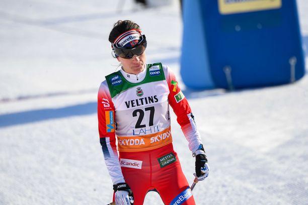 Heidi Weng on maailmancupissa kakkosena.