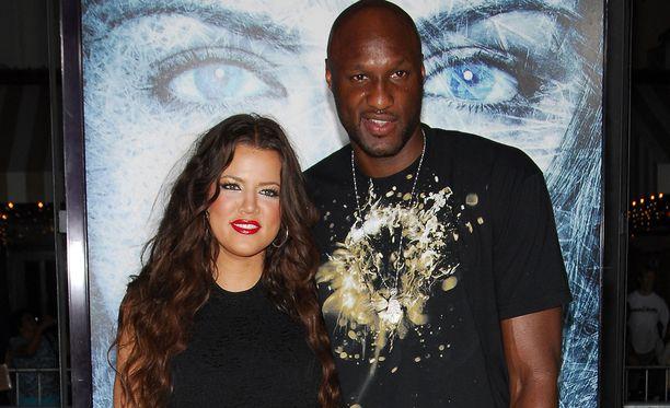 Khloé ja Lamar syyskuussa 2009.