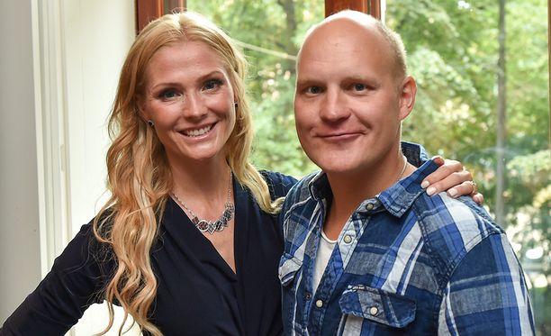 Kalle ja Riina-Maija Palander ovat olleet naimisissa vuodesta 2007 lähtien.