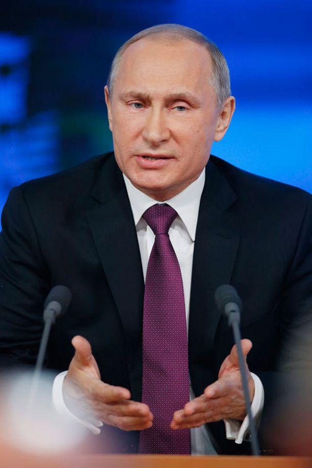 Putin kritisoi puheessaan jälleen voimakkaasti länttä.