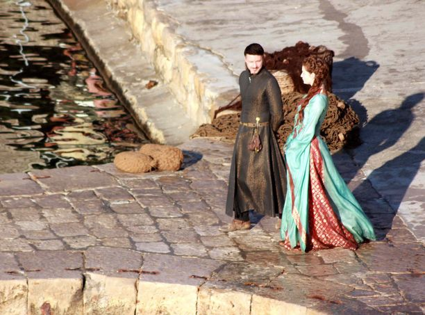 Game of Thronesin kuvauksia Dubrovnikissa.