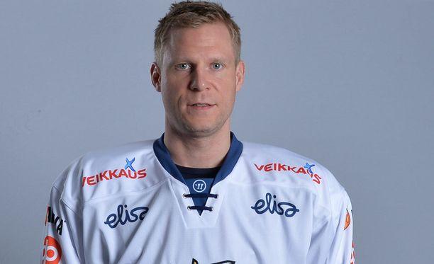 Mikko Koivu on kolmatta kertaa urallaan Leijonien kapteeni arvokisoissa.