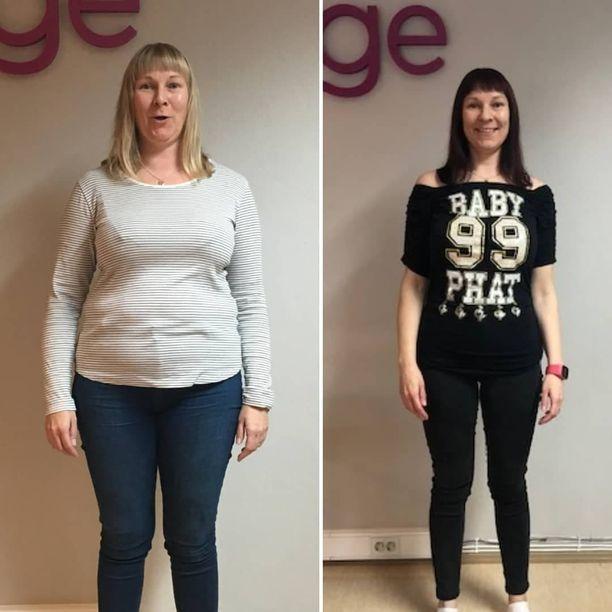 Valkeakoskelainen Suvi Johansson pitää pudotetut 20 kiloa poissa syömällä viisi kertaa päivässä lautasmallin mukaan.