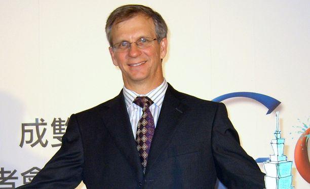 Googlen hakupalvelun varajohtaja Alan Eustace kuvattuna vuonna 2008 Taiwanissa.