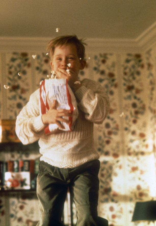 Kevin pistää elokuvassa jouluna ranttaliksi, kun vanhemmat eivät ole kotona.