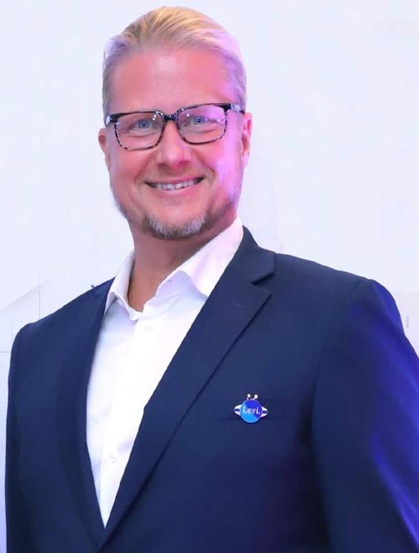 Yrjötapio Kivisaari johtaa Levin matkailua eli nykyisin Visit Leviä.