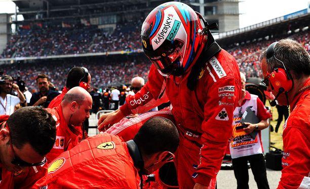 Kimi Räikkönen on Marcan mukaan lähellä Ferrari-jatkosopimusta.