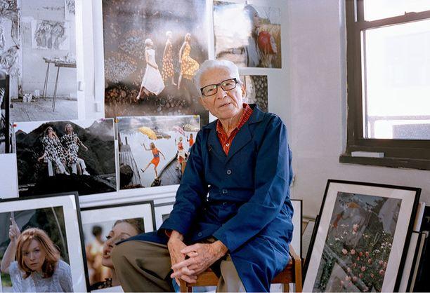 Tony Vaccaro, 95, työskentelee edelleen päivittäin studiollaan New Yorkissa.