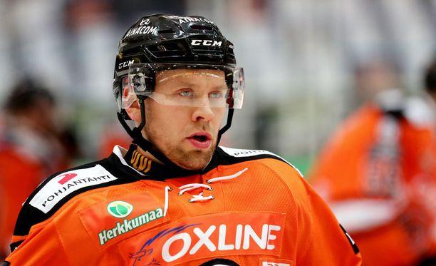 Juho Keränen pelaa loppukauden Lukossa.