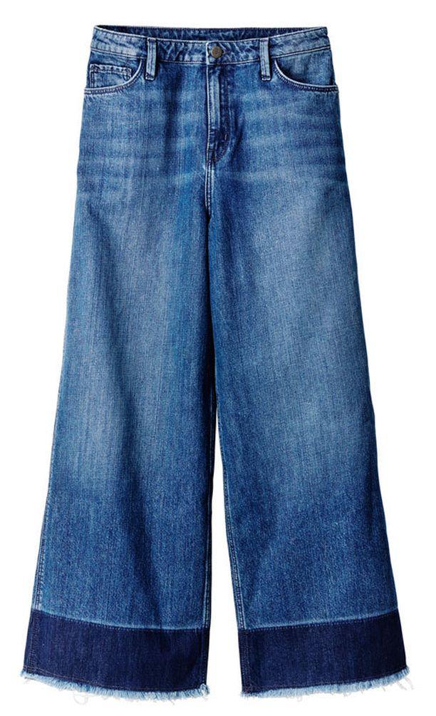 H&M:n farkkujen lahkeissa on kunnolla tilaa.