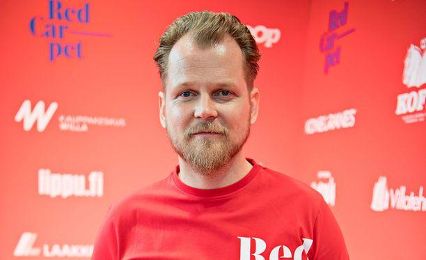 Antti Luusuaniemi on Red Carpet -elokuvafestarin isä.